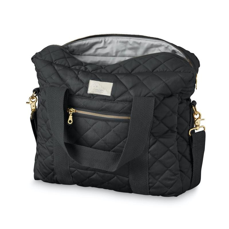 Cam Cam <br/> Wickeltasche Long Zipper <br/> Black