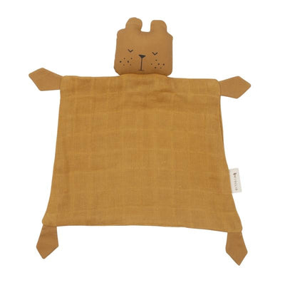 Fabelab <br/> Animal Cuddle Bear Schmusetuch <br/> Ochre