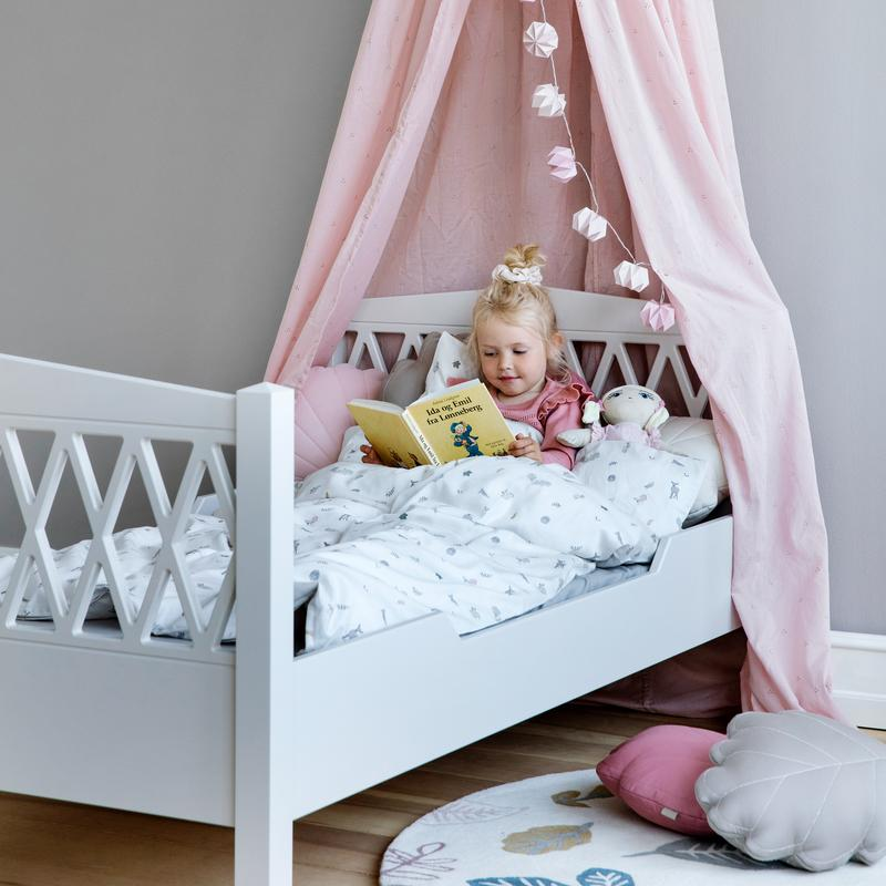 Cam Cam <br/> Harlequin Junior Bett <br/> White 90 x 160 cm