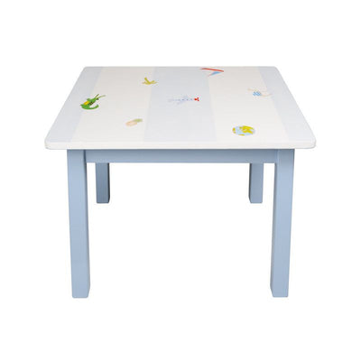 Isle of Dogs Children's table White / blue, tables, Isle of Dogs - SNOWFLAKE children's furniture concept store