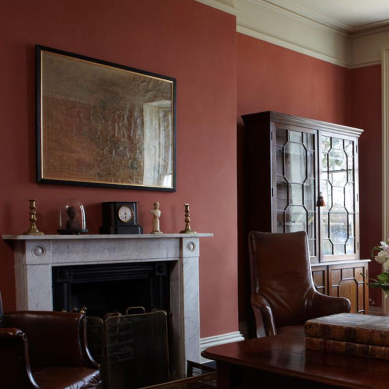 Farrow & Ball <br/> Modern Emulsion <br/> Book Room Red 50