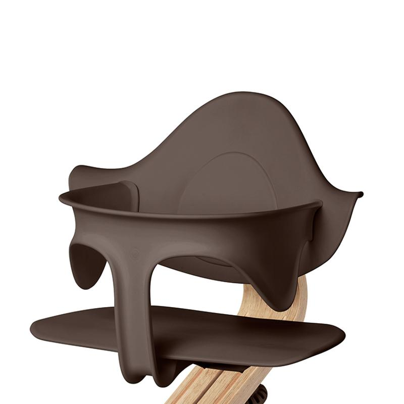 Nomi High chair Black Finished / Coffee