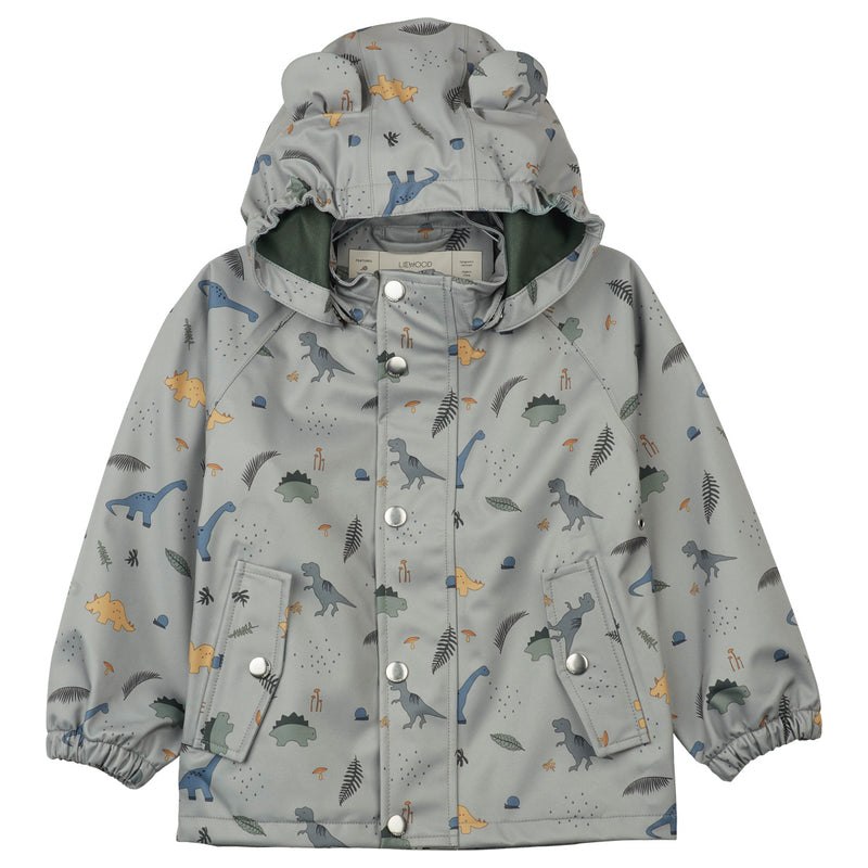 "Liewood <br/> Regenjacke/Regenhose Set ""Dakota"" <br/>  Dino Dove Blue Mix"