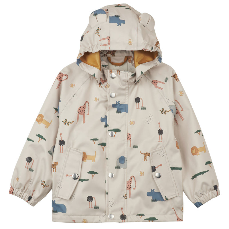"Liewood <br/> Regenjacke/Regenhose Set ""Dakota"" <br/>  Safari Sandy Mix"