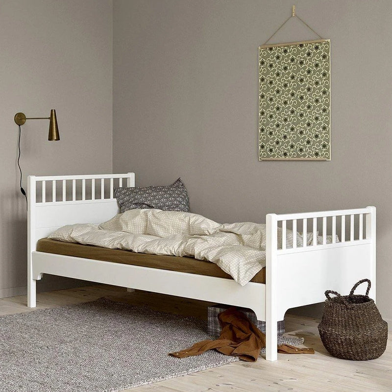Oliver Furniture Seaside Classic single bed 90 x 200 cm White