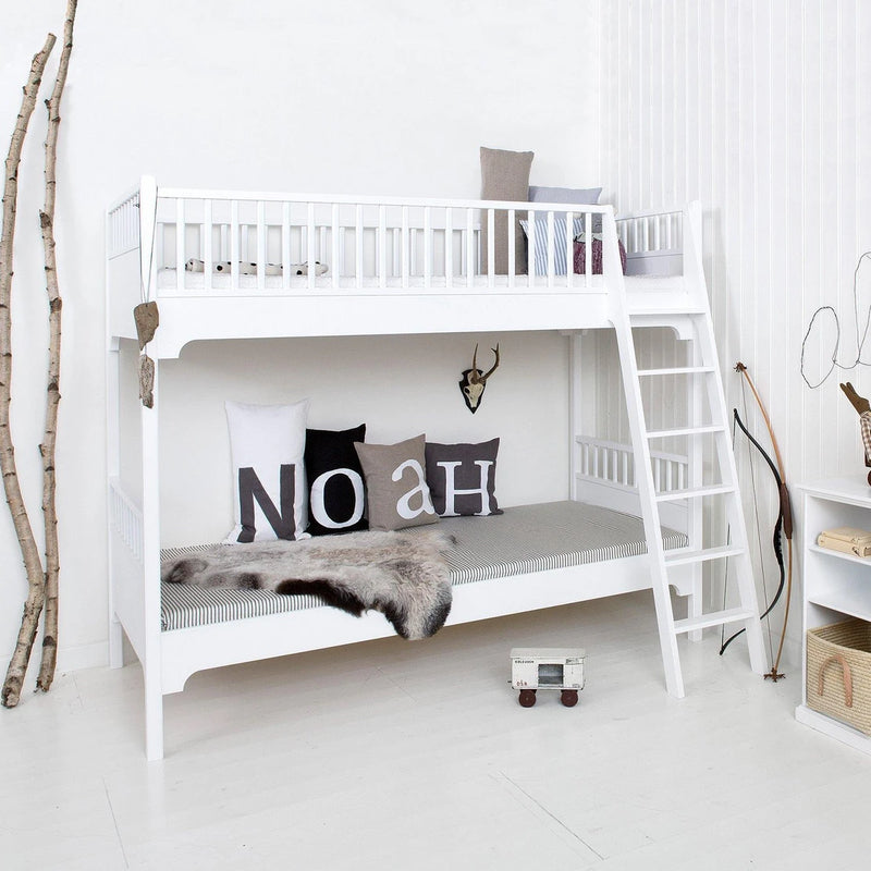 Oliver Furniture Seaside Classic bunk bed 90 x 200 cm with inclined ladder White