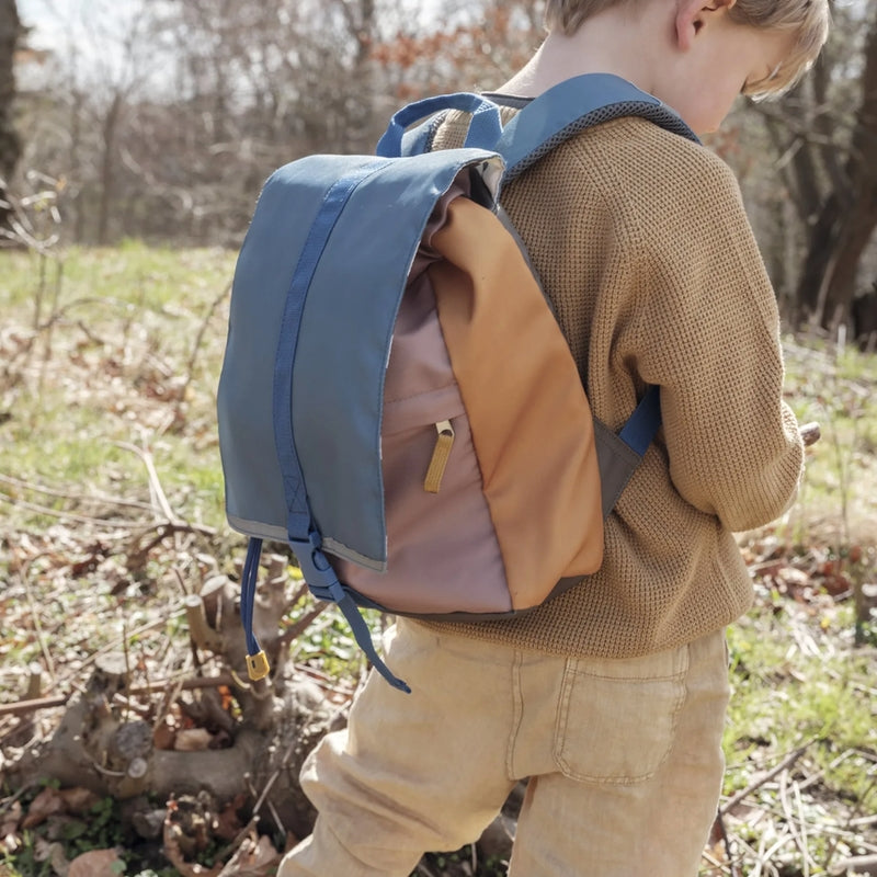 Fabelab Children's backpack small Olive mix