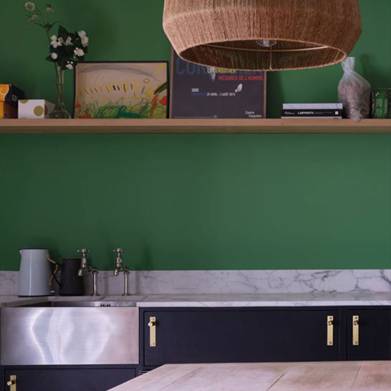 Farrow & Ball <br/> Modern Emulsion <br/> Emerald Green W53
