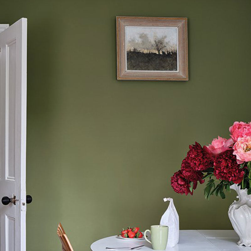 Farrow & Ball <br/> Modern Emulsion <br/> Sap Green W56
