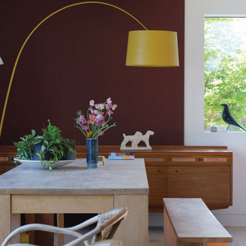 Farrow & Ball <br/> Modern Emulsion <br/> Deep Reddish Brown W101