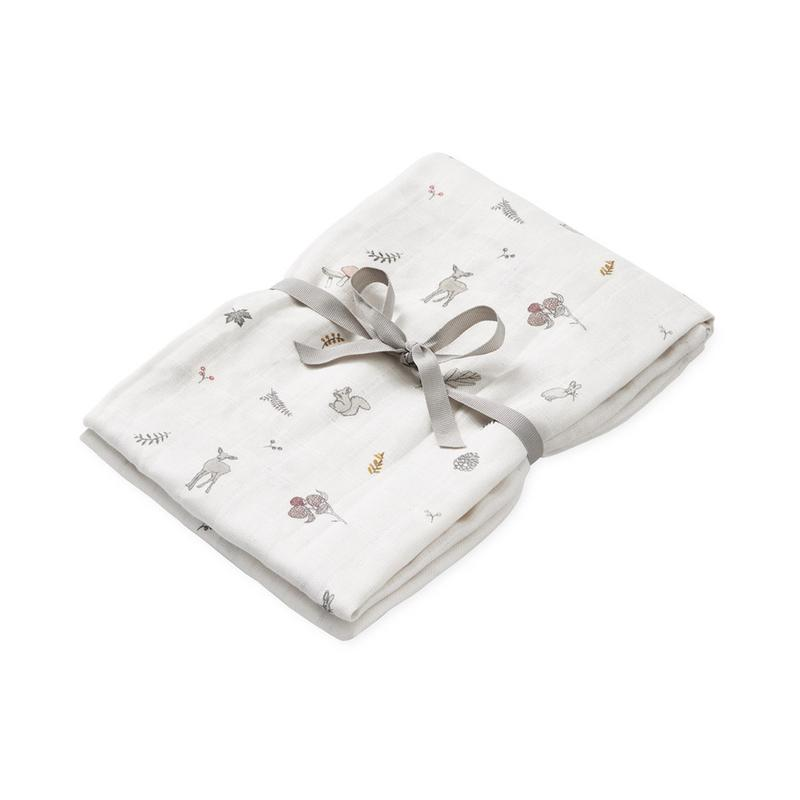 Cam Cam <br/> Mulltuch Swaddle <br/> Fawn