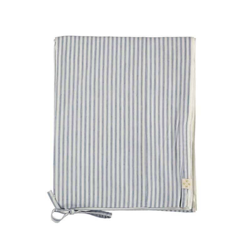Camomile London <br/> Bettwäsche Stripe <br/> Blue
