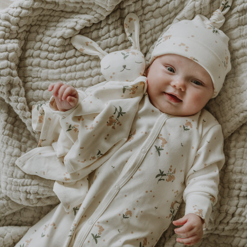 Garbo & Friends baby bodysuits Forget me not