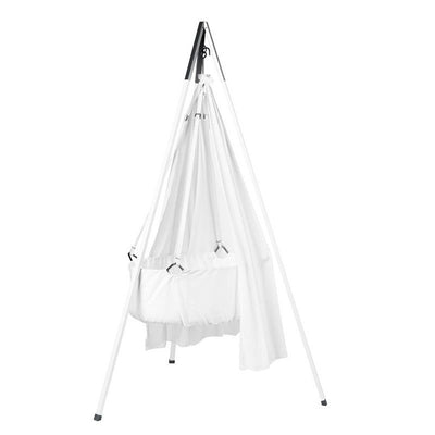 Leander Baby cradle with tripod White / white, baby cradles, Leander - SNOWFLAKE children's furniture concept store
