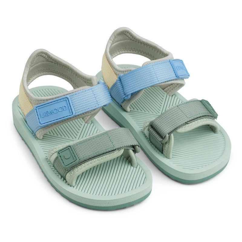 "Liewood <br/> Sommersandalen ""Monty"" <br/> Dusty Mint Multi Mix"