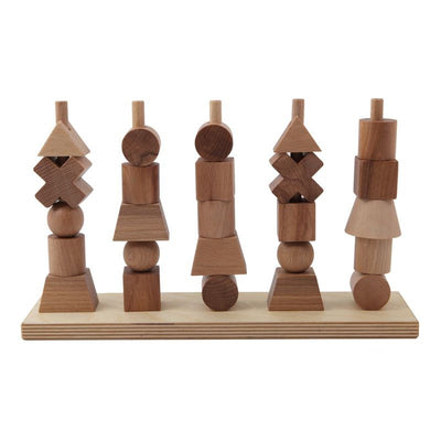 Wooden Story Pegging game Nature, wooden toys, Wooden Story - SNOWFLAKE children's furniture concept store