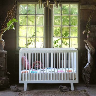 Oeuf NYC Sparrow cot White 70 x 140 cm