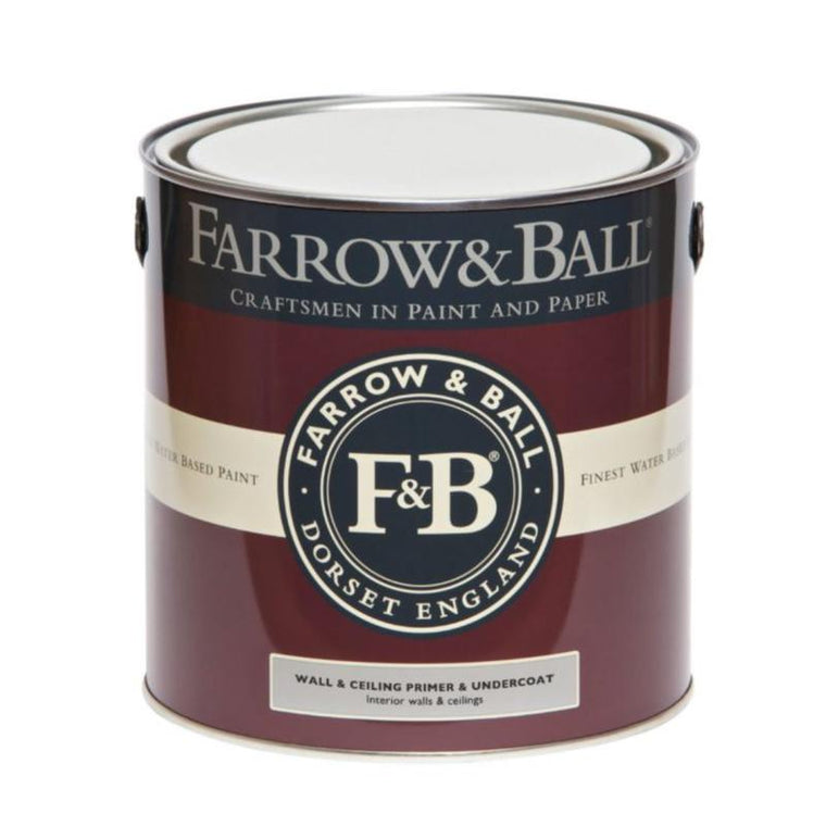 Farrow & Ball <br/> Wall & Ceiling Primer & Undercoat <br/> White and Light Tones