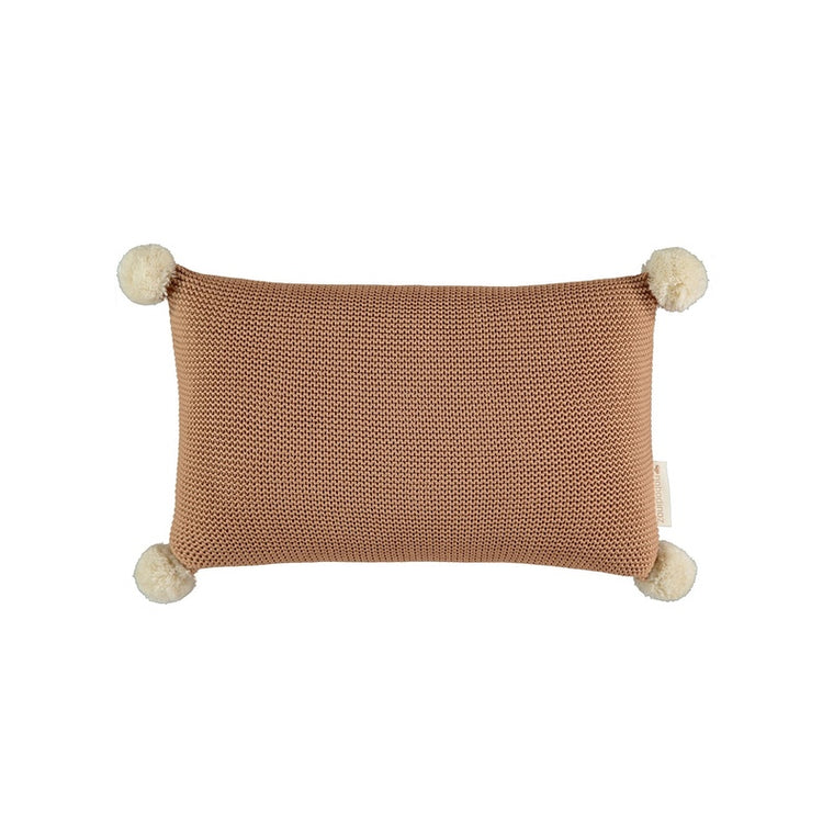 Nobodinoz <br/> So Natural Knitted Kissen <br/> Biscuit