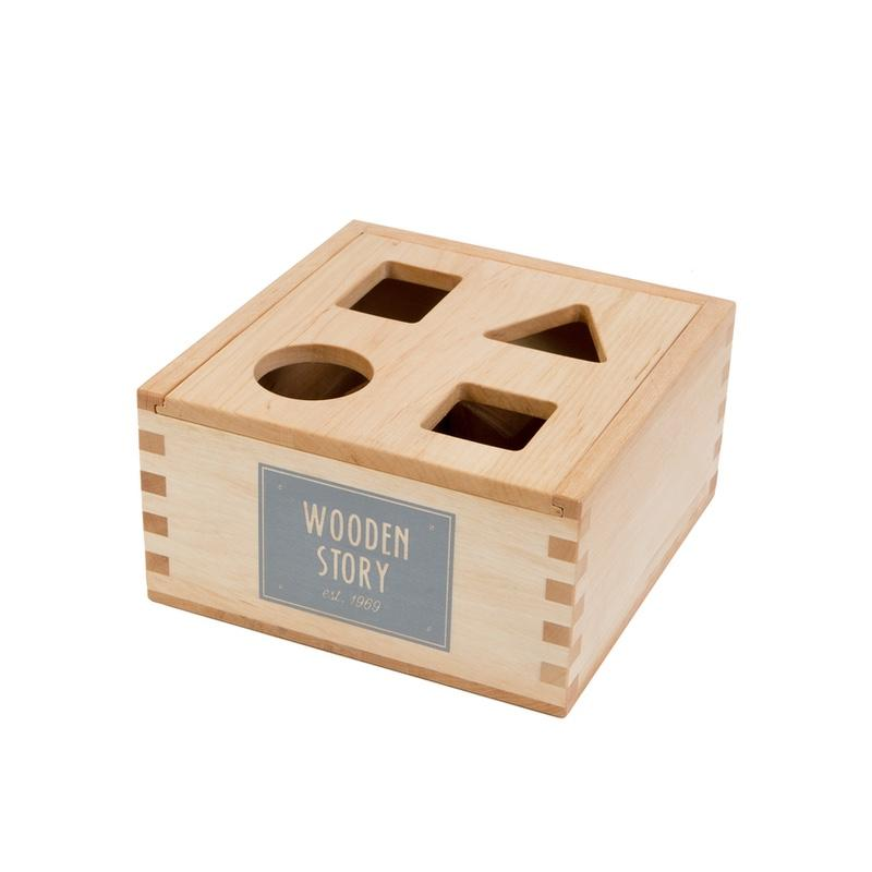 Wooden Story <br/> Steckbox <br/> Natur