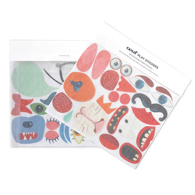 Oeuf NYC Stickers for Oeuf chairs Colored motifs, accessories, Oeuf NYC - SNOWFLAKE children's furniture concept store