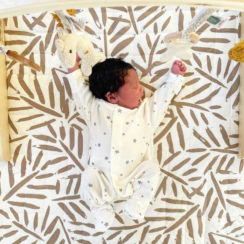 """Toddlekind """"Luxe"""" nappy-free play mat Tan"""