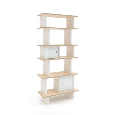 Oeuf NYC Vertical shelf Birch / white, shelves, Oeuf NYC - SNOWFLAKE children's furniture concept store