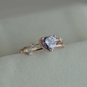 Love Heart Wedding Ring