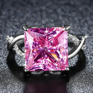 Princess Pink Wedding Ring