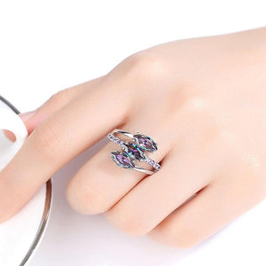 Love Symbol in Finger Ring