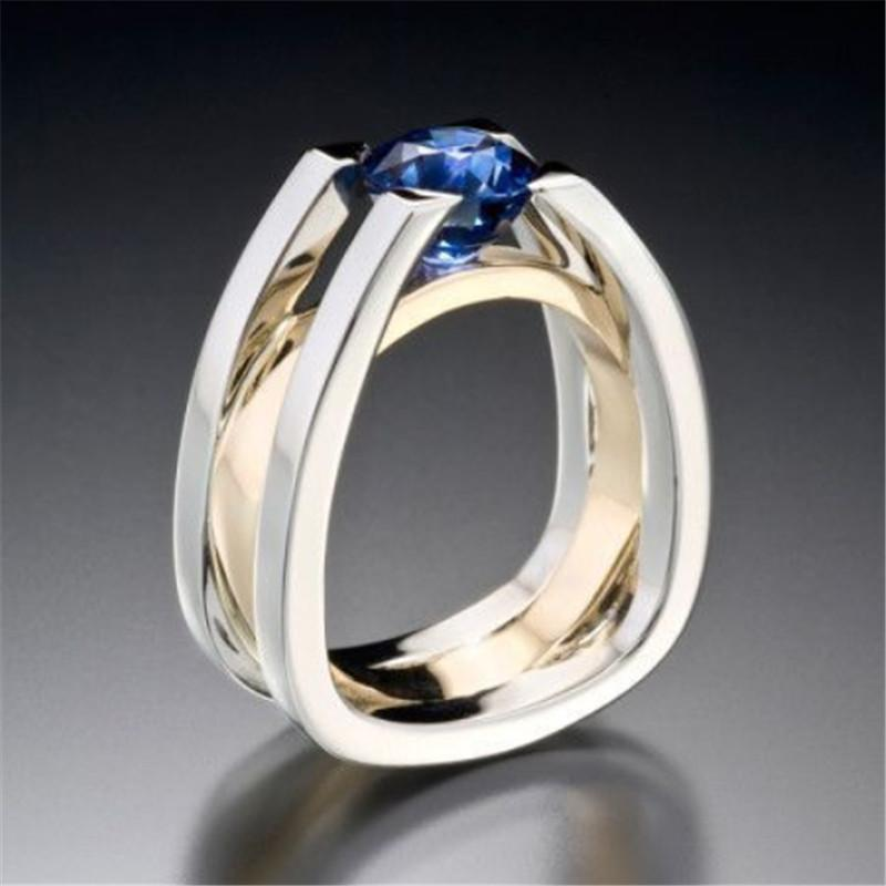 Exquisite Two Tone Ring