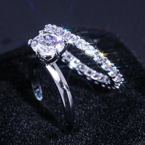 2PC Micro Paved Proposal Ring