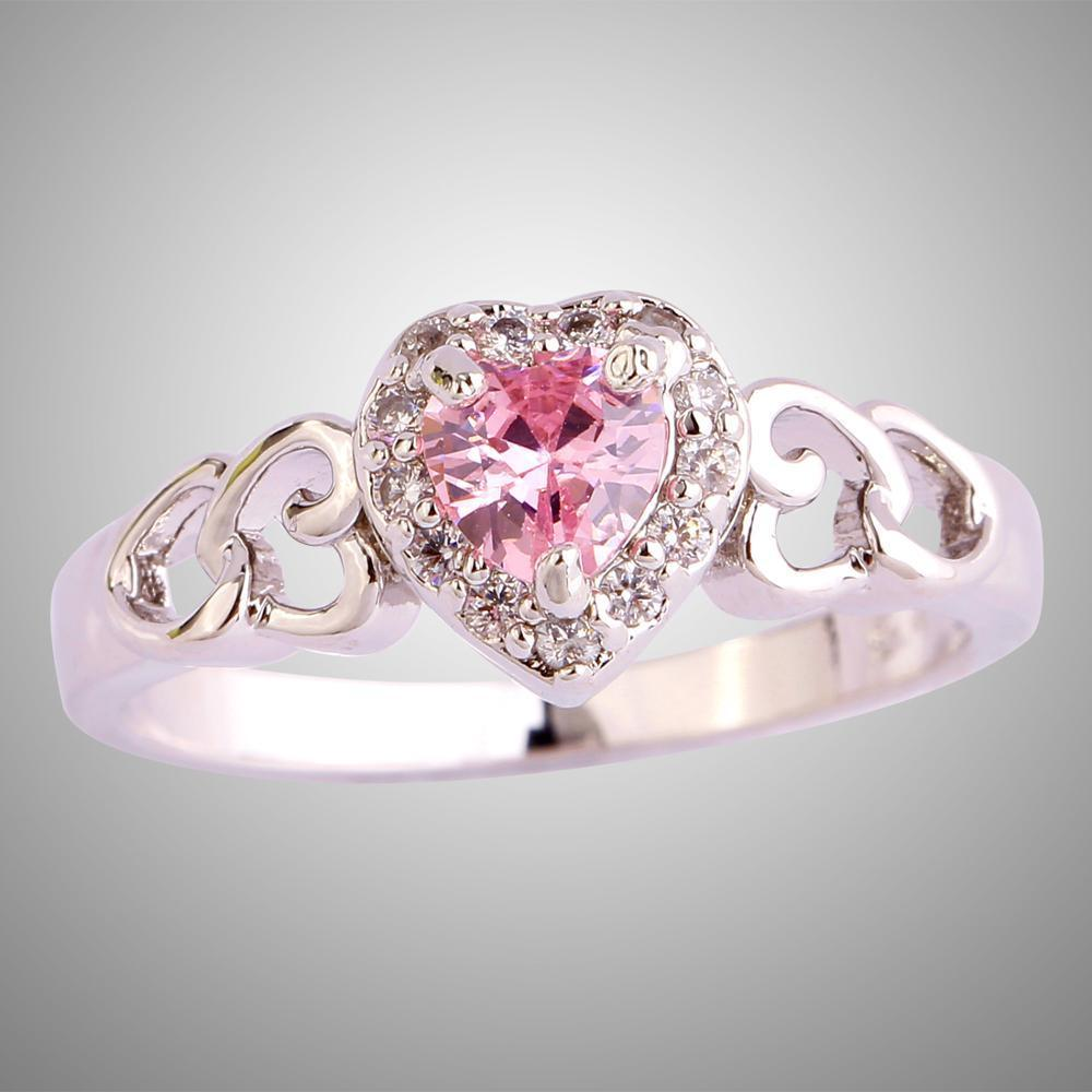 Love Heart Anniversary Ring