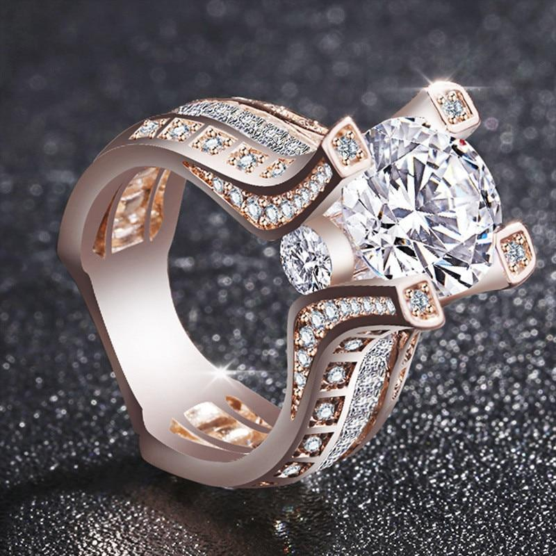 Luxurious Big Stone Ring