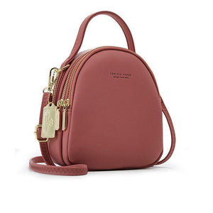 PU Leather Mini Shoulder Bag
