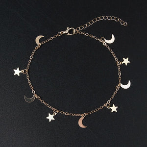 Star And Moon Classic Bracelet