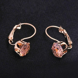 CZ Crystal Party Earrings