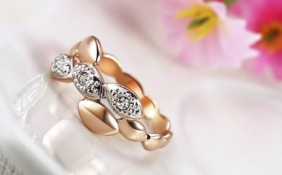 Free Jewelry - Golden Leaves Ring - Clever Clad
