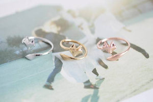 Free Jewelry - Fire Fox Couple Ring  - Clever Clad
