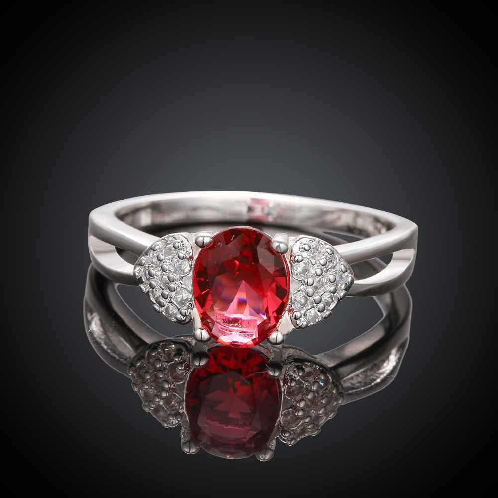 Free Jewelry - Double Heart Red Ring - Clever Clad
