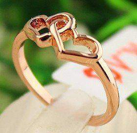 Free Jewelry - Linked Hearts Ring - Clever Clad