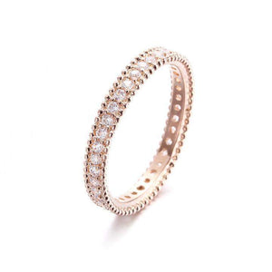 Top Selling Full Crystal Classic Ring