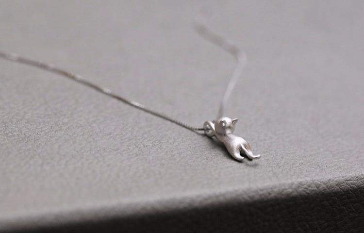 Free Jewelry - Cat Pendant Necklace - Clever Clad