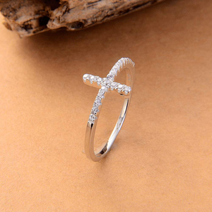 Free Jewelry - Cross Ring - Clever Clad