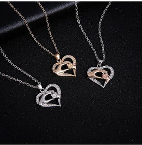 2018 Mom and Baby Love Necklace