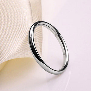 Anniversary Solid Couples Ring
