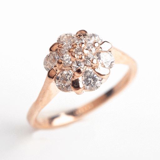 2018 Luxury Austrian Crystal Engagement Ring