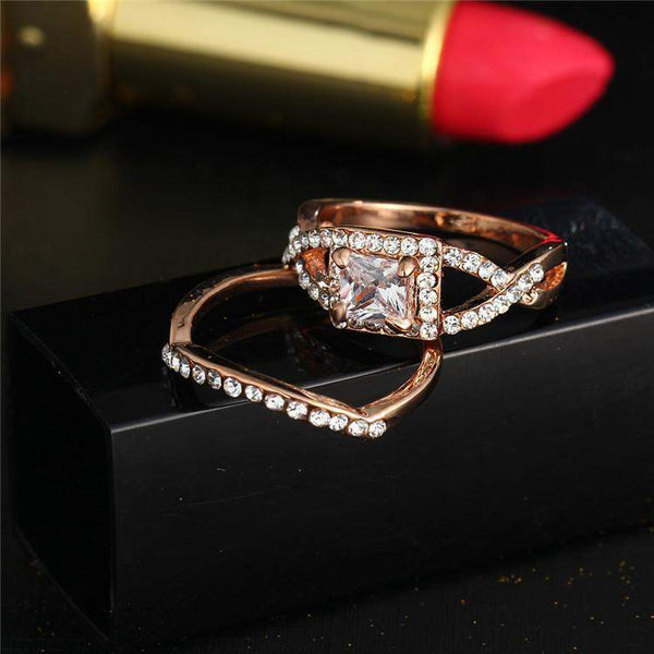 2018 Vintage Zircon Bridal Ring