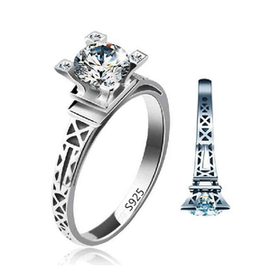 Free Jewelry - Eiffel Tower Ring - Clever Clad
