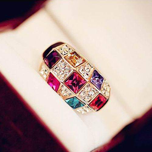 Free Jewelry - Colorful Luxury Ring - Clever Clad